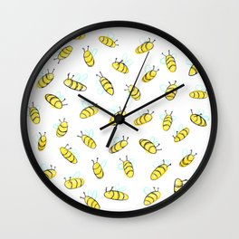 Bumble BaeBees Wall Clock