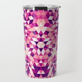 Triangle mandala 1 Travel Mug