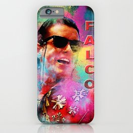 Colorful Dust Falco iPhone Case
