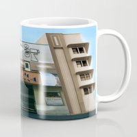 cinema Mugs featuring CINEMA PANTHEON by Chris Meiklejohn