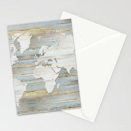 Design 118 World Map Stationery Cards
