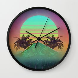 80s love Wall Clock