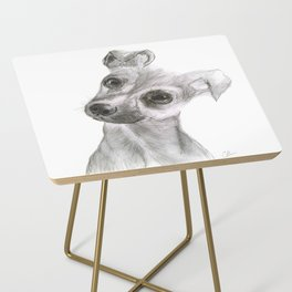 Chihuahua Dog Side Table