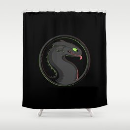 Dragon Kombat Shower Curtain