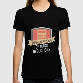Funny Accountant Bookkeeper Student Cpa T-shirt