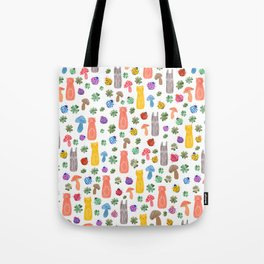 Animals & Lucky charms Tote Bag