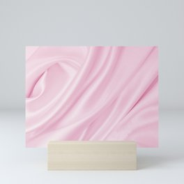 Blush Pink Silk Mini Art Print