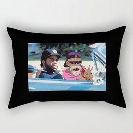 Ice Cube x Master Roshi Rectangular Pillow
