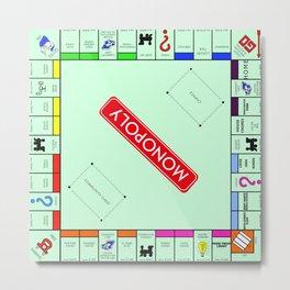 Monopoly Metal Print