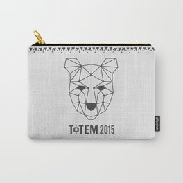 Totem Festival 2015 - Black & White Carry-All Pouch
