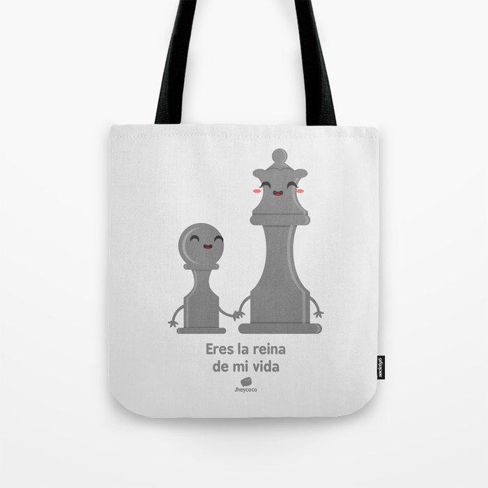 VIDA Tote Bag - black and white tote by VIDA 31P2BC