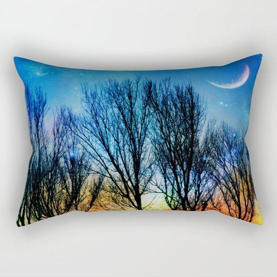 light up the sky Rectangular Pillow