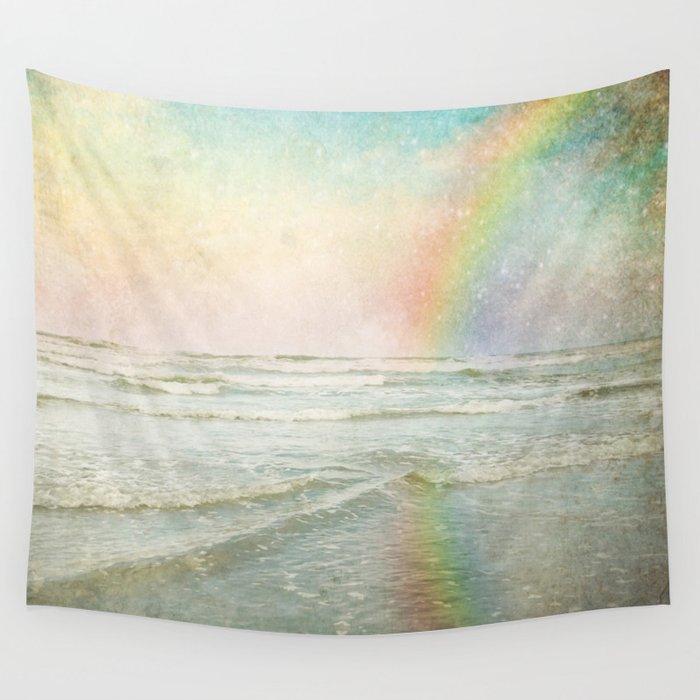 Rainbow Bright Wall Tapestry
