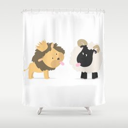 Grimace Shower Curtain