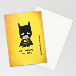 Super Emo Batty iphone5 Stationery Cards