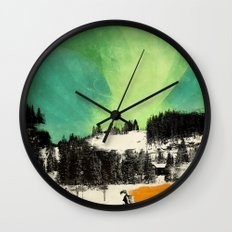 Dont Forget Northern Lights Wall Clock