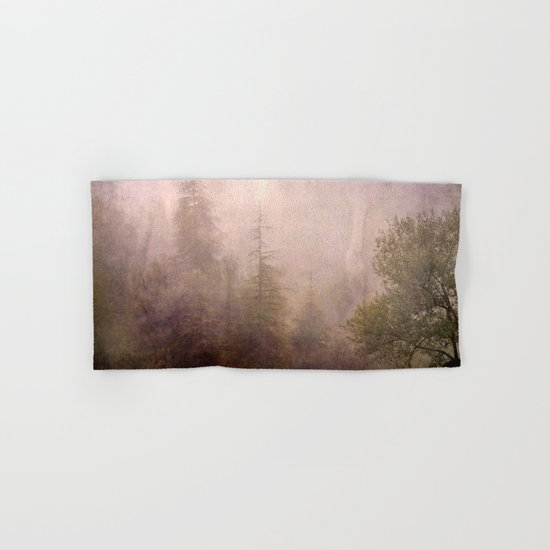 """Mistery forest. Foggy"". Retro serie Hand & Bath Towel"