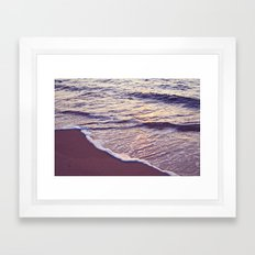 Morning Waves Framed Art Print