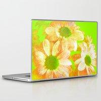 vintage flowers Laptop & iPad Skins featuring Vintage Flowers by Vitta