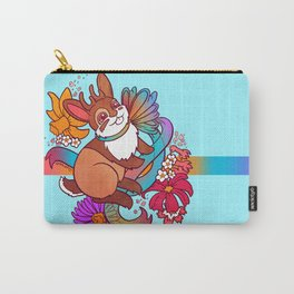 Springtime Jackalope Carry-All Pouch