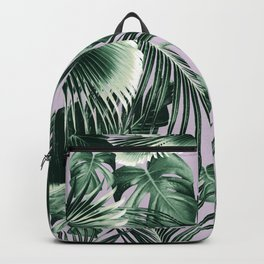 Tropical Jungle Leaves Dream #8 #tropical #decor #art #society6 Backpack