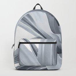 Grey Leaves Backpack
