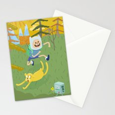 adventure friends Stationery Cards