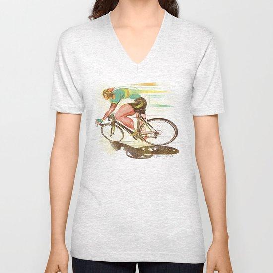 The Sprinter, Cycling Edition Unisex V-Neck