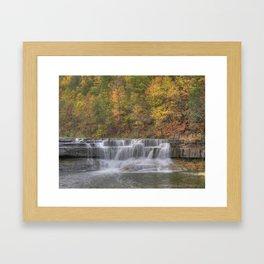 Lower Taughannock Falls 2 Framed Art Print