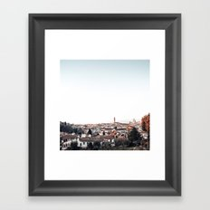 looking at Florence Framed Art Print