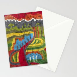 Road to Pignano Stationery Cards