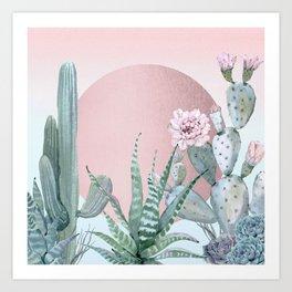 Desert Sunset by Nature Magick Art Print