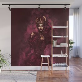 The Red Queen Wall Mural