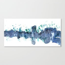 Going Downtown: Saginaw Canvas Print