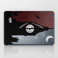 peter pan iPad Cases featuring Peter Pan by Rowan Stocks-Moore