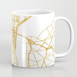 PHILADELPHIA PENNSYLVANIA CITY STREET MAP ART Coffee Mug