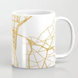 PHILADELPHIA PENNSYLVANIA CITY STREET MAP ART Coffee Mug