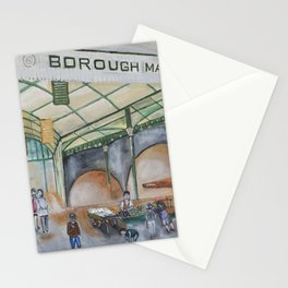 Borough Market in London Stationery Cards