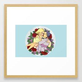 Love is coming back Framed Art Print