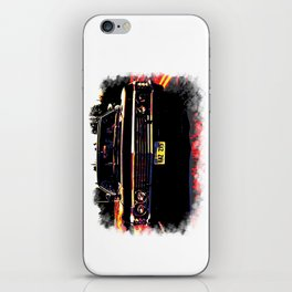 Impala multicolored (Supernatural) iPhone Skin