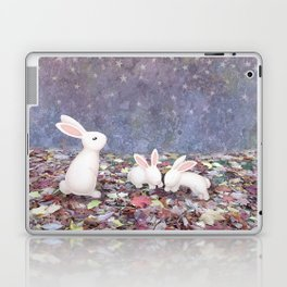 bunnies under the stars Laptop & iPad Skin