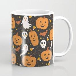 Pumpkin Party - Black Coffee Mug