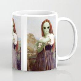 Bouguereau's Alien Shepherdess Coffee Mug