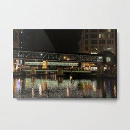 Walkways Over Water Metal Print