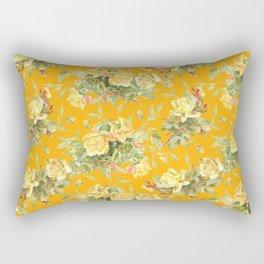 TEA ROSES & SAFFRON  Rectangular Pillow