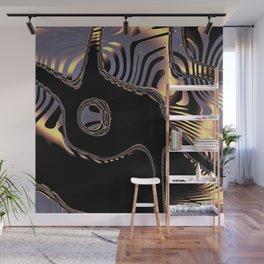 Elegant Black Fractal 3 Wall Mural