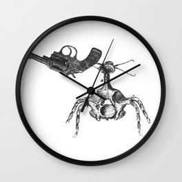 Gun Bug Wall Clock