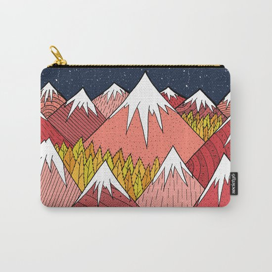 The mountains in the forest Carry-All Pouch