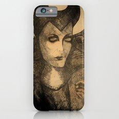 maleficent sketch iPhone 6s Slim Case