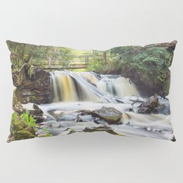 Upper Chapel Falls at Pictured Rocks National Lakeshore - Michigan Pillow Sham